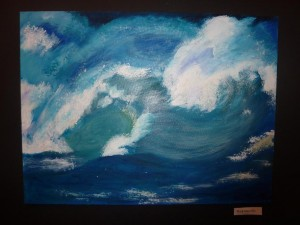 Wave painting, final project©